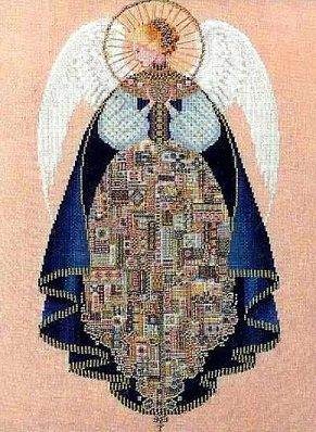 Angel of Love-LL25- cross-stitch chart