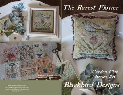 The Rarest Flower (8/12) Garden Club Series; Blackbird Designs