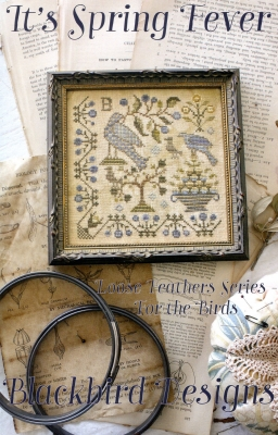 It's spring fever Loose feathers series For the birds by Blackbird Designs