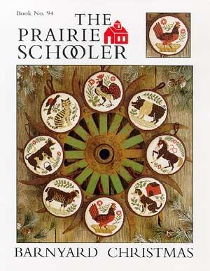 Barnyard christmas by The Prairie Schooler