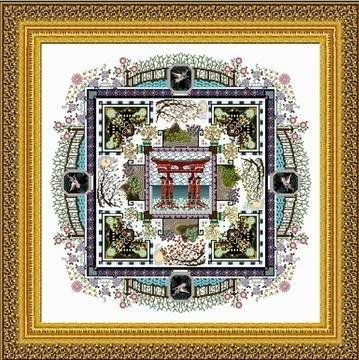 Japanese Garden Mandala