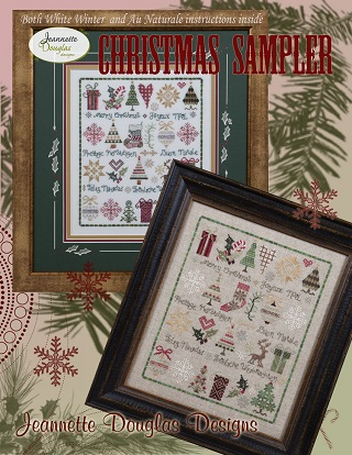Christmas Sampler by Jeanette Douglas Designs