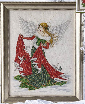 Christmas angel by Joan Elliott