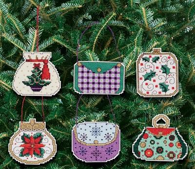 Christmas hanbags by Janlynn