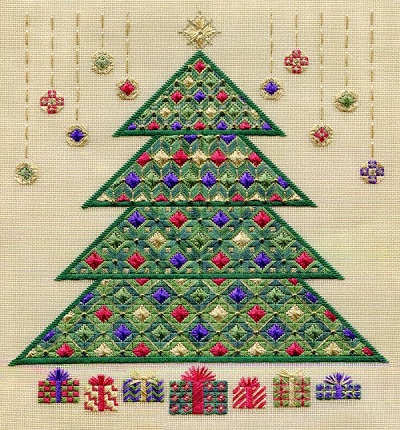 Christmas Tree 2011 by Laura J.Perin Designs