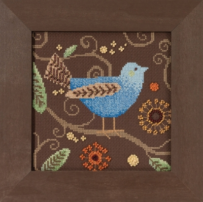 Blue Bird,DM301811,Debbie Mumm