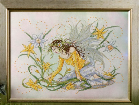 Daffodil fairy by Joan Elliott