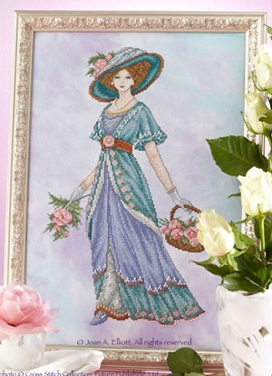 Edwardian lady by Joan Elliott