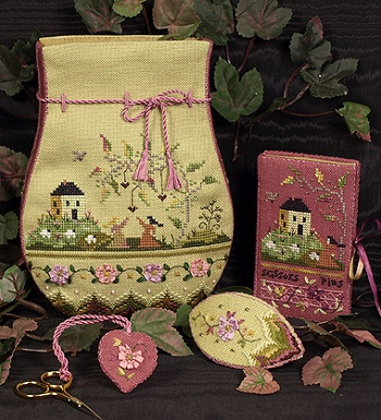 Victorian purse by The Victoria Sampler