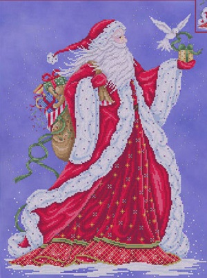 Father Christmas by Joan Elliott