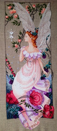 Stitched Flora by Olga