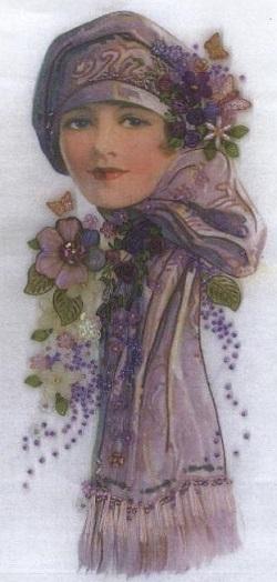 Frida silk panel