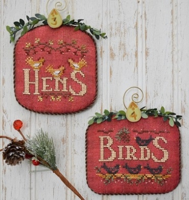 Hens and Birds-12 days by Hands On Design