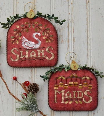 Swans and Maids -12 Days by Hands On Designs