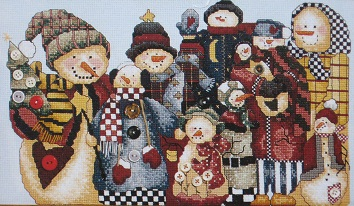 Snowman Collector by Janlynn