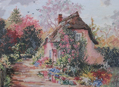 Rose Bower Cottage by Marty Bell