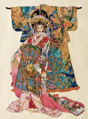 Kimono geisha by Bucilla