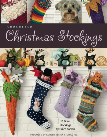 Crocheted Christmas Stockings by Kooler Design Studio