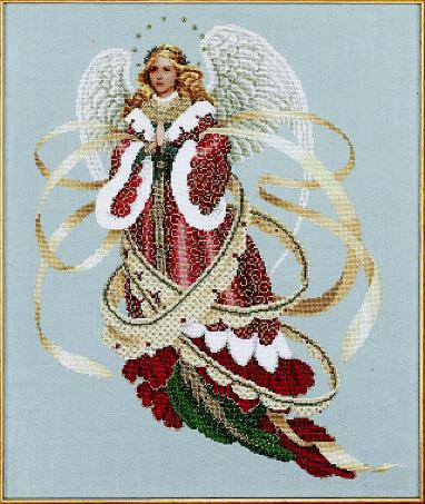 Angel of Christmas-LL39- by Lavender & Lace