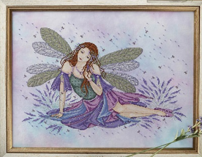 Lavender fairy by Joan Elliott