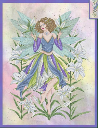 Lily fairy by Joan Elliott