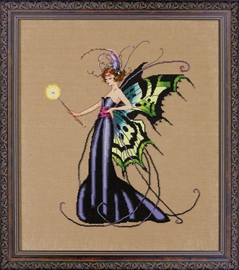 August Peridot fairy-MD122- by Mirabilia