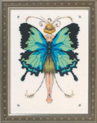 Miss Goss Swallowtail  Butterfly Misses Collection,NC241,Nora Corbett