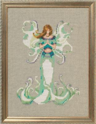 Angel White Trumpet  Poison Pixies,NC246,Nora Corbett