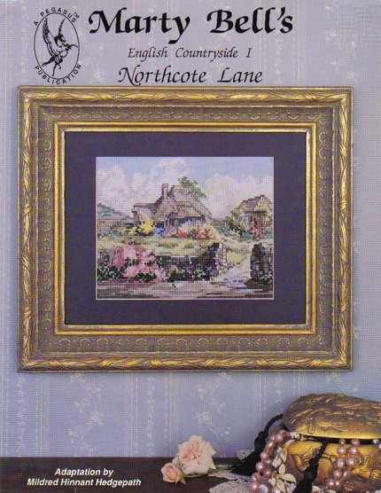 Northcote Lane cross-stitch chart