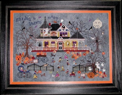 Seedy Pumpkin Cottage by Praiseworthy Stitches