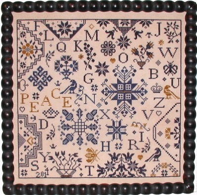 Simple Gifts - Peace by Praiseworthy Stitches