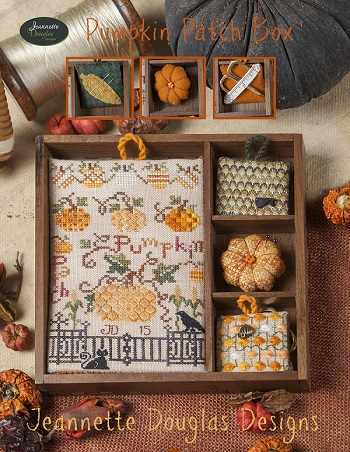 Pumpkin Patch Box (Chart) by Jeannette Douglas Designs