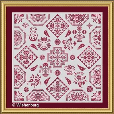Quaker Symetrics by Stickideen Von Der Wiehenburg