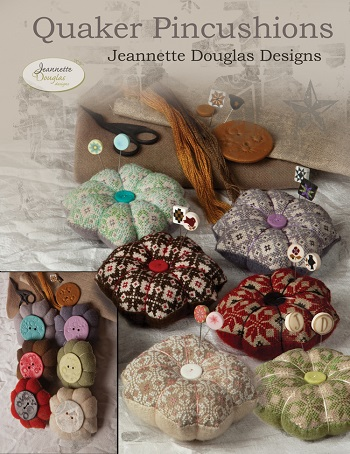 Quaker Pincushions by Jeannette Douglas Designs