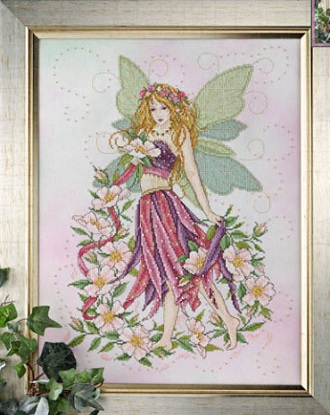 Rose fairy by Joan Elliott