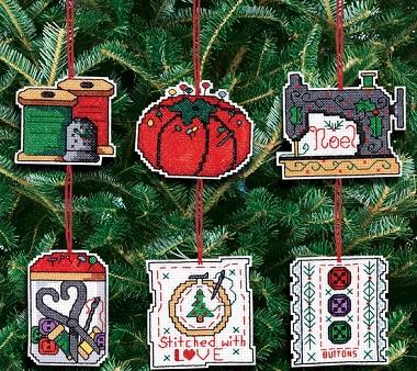 Sewing ornaments by Jnlynn