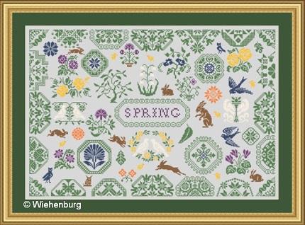 Spring Quaker by Stickideen Von Der Wiehenburg