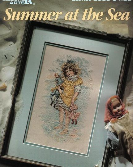 Summer at the sea cross-stitch chart