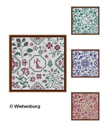 Virgo / Libra Quaker Square by Stickideen Von Der Wiehenburg