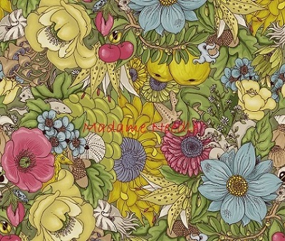 Wildside Spring printed panel