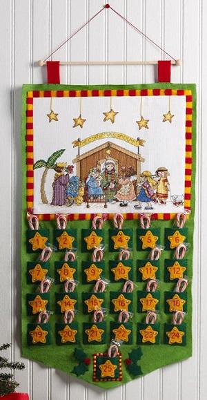 Advent calendar by Bucilla