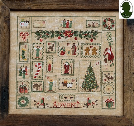 Advent sampler by Sara Guermani