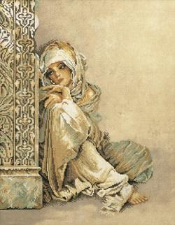Arabian woman by Lanarte