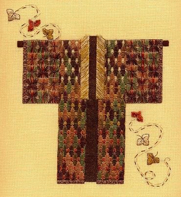 Autumn Leaf Kimono by Laura J. Perin Designs