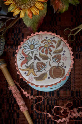 Autumn Posy by Plum Street Samplers