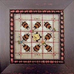 Alphabet Baubles- B Is For Bee by Samsarah Design Studio