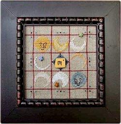 Alphabet Baubles-M Is For Moon by Samsarah Design Studio
