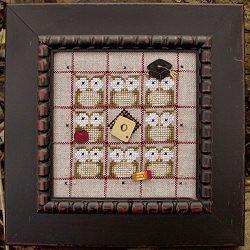 Alphabet Baubles-O Is For Owl by Samsarah Design Studio