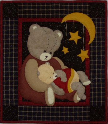 Baby Bear quilting kit by Rachael's of Greenfield