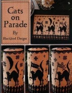 Cats on Parade; Blackbird Designs